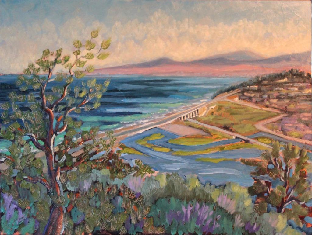 April Morning at Torrey Headlands