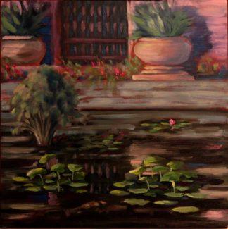 original oil painting, San Diego plein air, artist, Ronald Lee Oliver