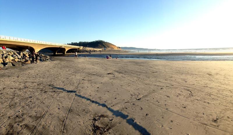 Afternoon at North Torrey Pines Beach