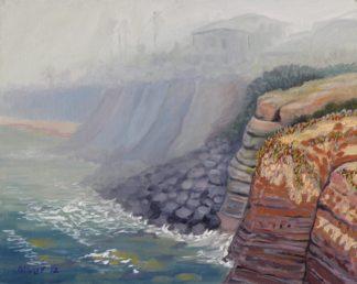 original oil painting by San Diego plein air artist, Ronald Lee Oliver