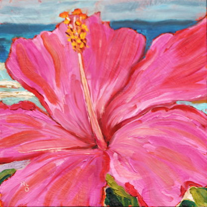original oil painting done in studio by San Diego plein air artist, Ronald Lee Oliver