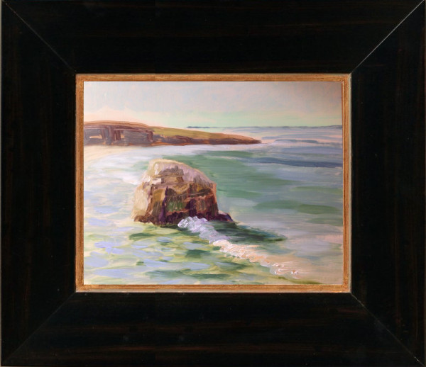 "This is my ""go to"" frame to compliment my plein air paintings..."