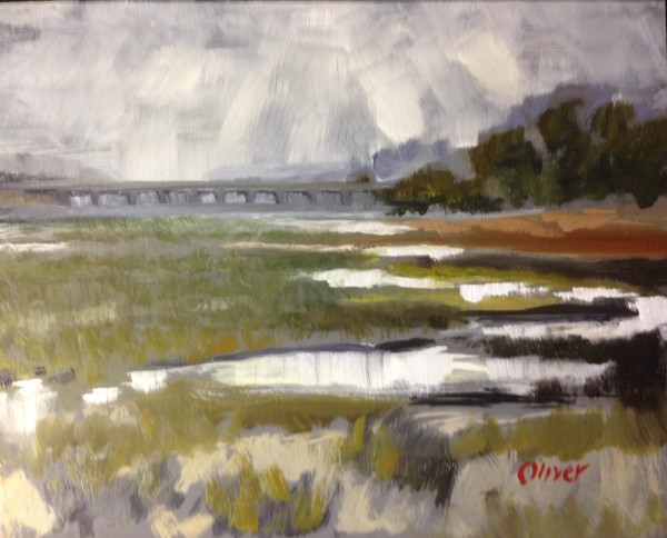San Diego River Plein Air Painting